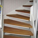 Stepkitrenoverad trappa